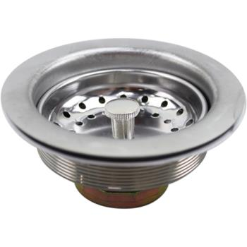321621 - Axia - 16849 - 3 1/2 in Stainless Steel Drain Assembly Product Image