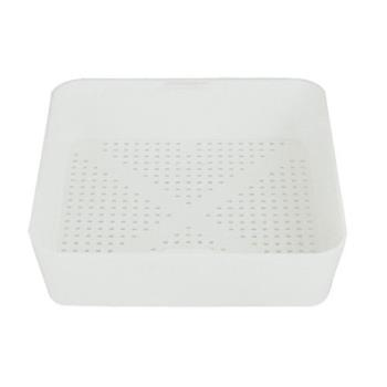 11500 - Commercial - 8 1/2 in Square Floor Drain Strainer Basket w/ 1/8 in Holes Product Image
