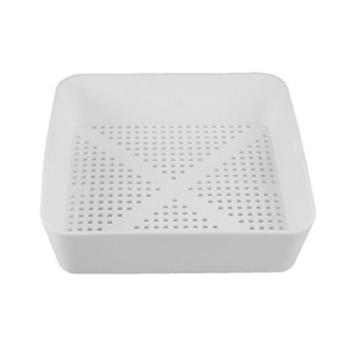 Commercial Square Floor Drain Strainer Basket With Holes