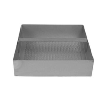 11486 - Commercial - Stainless Steel 7 3/4 in Square Floor Drain Strainer Basket Product Image