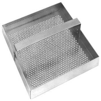 86609 - FMP - 102-1108 - Stainless Steel 7 3/4 in Square Drain Strainer Product Image