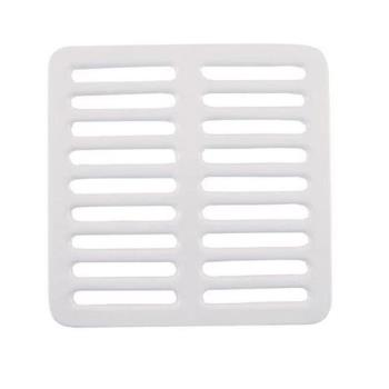 "11525 - Commercial - 9 1/4"" Porcelain Full Floor Sink Top Grate Product Image"