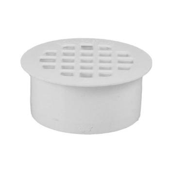 "11536 - Commercial - Plastic 3"" Round Floor Drain Strainer Product Image"