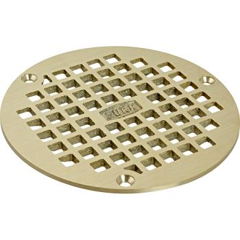 ZURPN4005BSTR - Zurn - ZNPN400-5B-STR - 5 In Bronze Floor Drain Cover Product Image