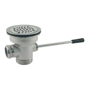 11210 - CHG - D10-4150 - 3 in x 2 in Lever Drain with Removable Cap Product Image