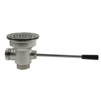 11105 - CHG - D10-7300 - 3 1/2 in x 1 1/2 in Lever Drain With Removable Cap Product Image