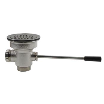 11115 - CHG - D10-7310 - 3 1/2 in x 1 1/2 in Lever Drain with Overflow Product Image