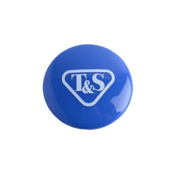 8011826 - T&S Brass - 018506-19NS - Blue Press In Index Button Product Image