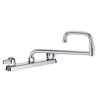 KRO13818L - Krowne - 13-818L - 8 in Deck Mount Faucet w/ 18 in Double Jointed Spout Product Image
