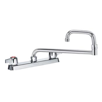 KRO13824L - Krowne - 13-824L - Deck Mount Faucet With 8 in Centers & 24 in Double Jointed Spout Product Image