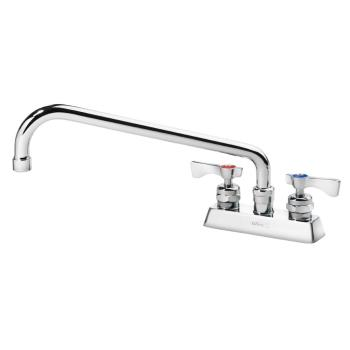 14232 - Krowne - 15-312L - 4 in Deck Mount Heavy Duty Royal Series Faucet w/ 12 in Spout Product Image