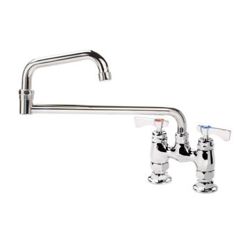 KRO15418L - Krowne - 15-418L - 4 in Deck Mount Royal Series Faucet w/ 18 in Double Jointed Spout Product Image
