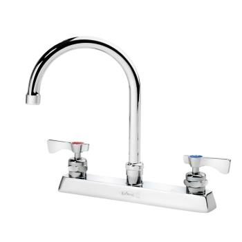 KRO15501L - Krowne - 15-501L - 8 in Royal Series Deck Mount Faucet w/ 6 in Gooseneck Spout Product Image