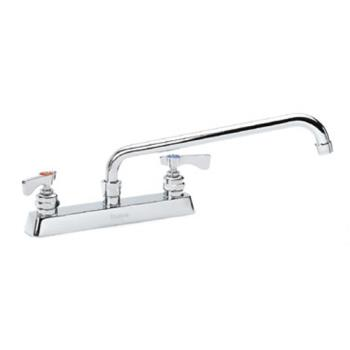 KRO15508L - Krowne - 15-508L - Royal Series Deck Mount Faucet With 8 in Centers & 8 in Spout Product Image