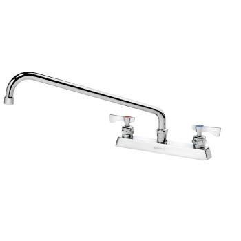 KRO15516L - Krowne - 15-516L - 8 in Deck Mount Royal Series Faucet w/ 16 in Spout Product Image