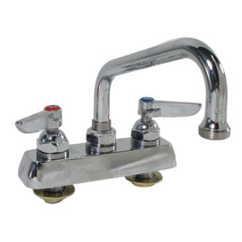 15160 - T&S Brass - B-1110 - 4 in Heavy Duty Deck Mount Faucet w/ 6 in Spout Product Image