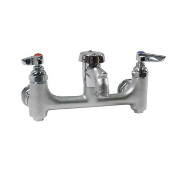 18152 - T&S Brass - B-0674-BSTR - 8 in Service Sink Faucet Product Image
