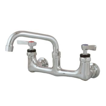 18106 - Encore Plumbing - KL54-8006-SE1 - Heavy Duty Wall Mount Faucet w/ 8 in Centers & 6 in Spout Product Image