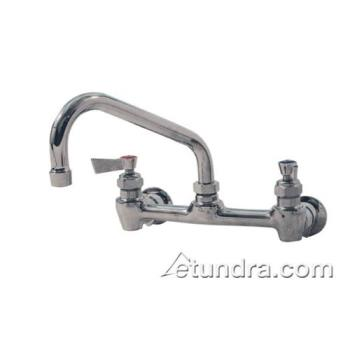 FIS46302 - Fisher - 46302 - 8 in Stainless Steel Wall Mount Faucet w/ 10 in Spout Product Image
