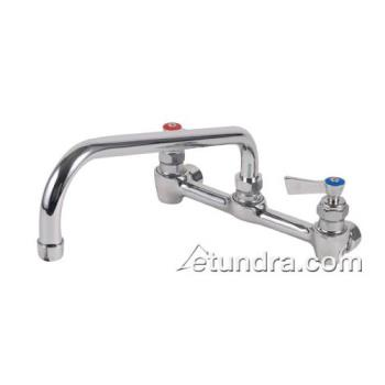 "FIS46310 - Fisher - 46310 - Heavy Duty 8"" Stainless Steel Wall Mount Faucet w/12"" Spout Product Image"