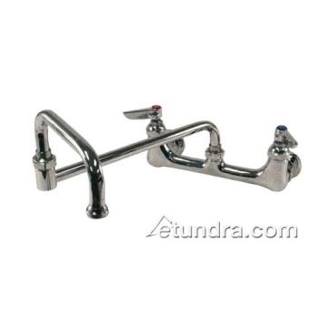 FIS60585 - Fisher - 60585 - 8 in Heavy Duty Wall Mount Faucet w/ 21 in Double Jointed Spout Product Image