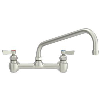 "FIS61077 - Fisher - 61077 - Wall Mount Faucet w/8"" Centers & 8"" Swing Spout Product Image"