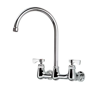 KRO14802L - Krowne - 14-802L - 8 in Royal Series Wall Mount Faucet w/ 8 1/2 in Spout Product Image
