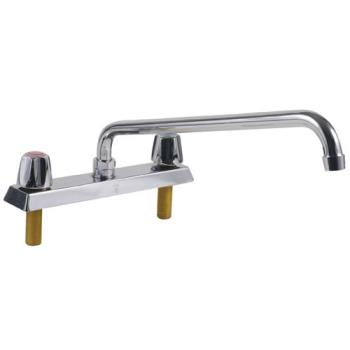 13714 - Encore Plumbing - TLL11-8014SE1 - 8 in Deck Mount Faucet w/ 14 in Spout Product Image