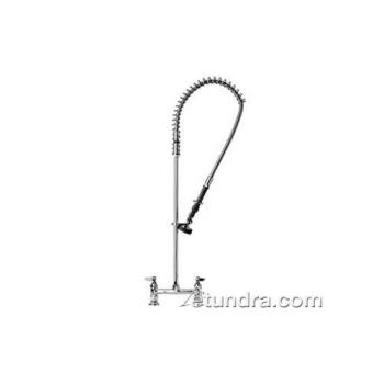 561056 - T&S Brass - B-0123 - Deck Mount EasyInstall Spring Action Pre-Rinse Product Image