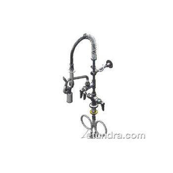 19112 - T&S Brass - MPY-2DLN-08 - Deck Mount Mini Pre-Rinse with 8 in Add-On Nozzle Product Image