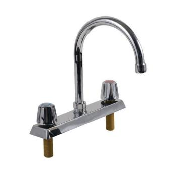 13725 - Top-Line - TLL11-8002RE1 - 8 in Deck Mount Faucet w/ Spout Product Image