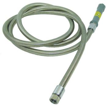 321230 - T&S Brass - B-0044-H - 44 in Flexible Stainles Steel Pre-Rinse Hose with Handle Product Image