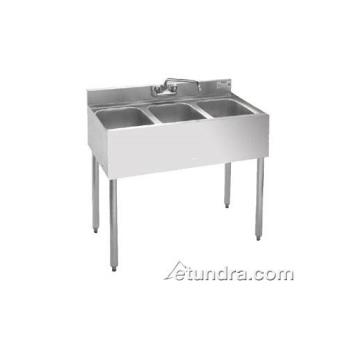 KRO1833H200 - Krowne - 18-33 H200 - 1800 Series 36 in Three Compartment Bar Sink Product Image