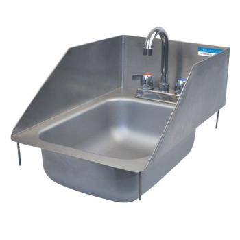 99251 - BK Resources - BK-DIS-1014-5-SS - 10 in x 14 in x 5 in One Compartment Sink Product Image