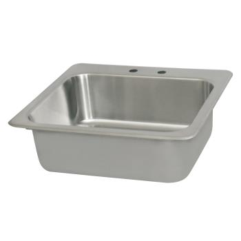 BKRDDI2016824 - BK Resources - DDI-2016824 - 20 in x 16 in x 8 in One Compartment Drop-In Sink Product Image