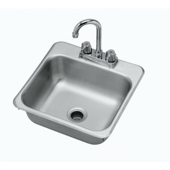 KRO281515 - Krowne - HS-151 - 15 in Drop-In Hand Sink with Faucet Product Image