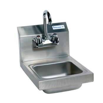 11596 - BK Resources - BKHS-W-SS-P-G - Space Saver Hand Sink Product Image