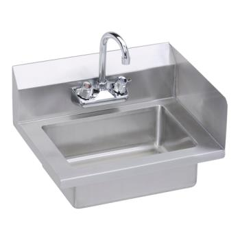 ELKEHS18SRX - Elkay SSP - EHS-18-S-RX - 18 x 14 1/2 in Hand Sink With Right Side Splash Product Image