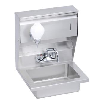 ELKEHS18STDX - Elkay - EHS-18-STDX - 18 x 14 1/2 in Hand Sink With Soap And Towel Dispenser Product Image