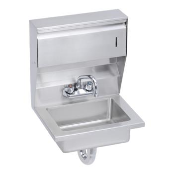 ELKEHS18TDX - Elkay - EHS-18-TDX - 18 x 14 1/2 in Hand Sink w/ Soap And Towel Dispensers Product Image