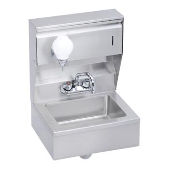 ELKEHS18TSX - Elkay - EHS-18-TSX - 18 x 14 1/2 in Hand Sink w/ Soap And Towl Dispenser Product Image