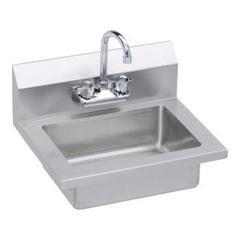 ELKEHS18X - Elkay - EHS-18X - 18 x 14 1/2 in Wall Mount Hand Sink Product Image