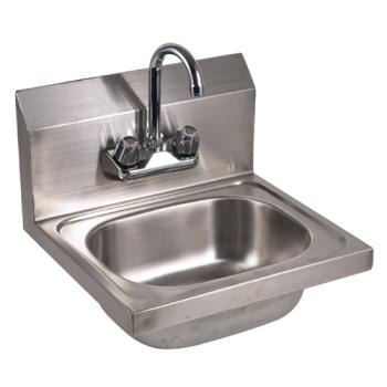 "11565 - GSW - HS-1615WG - 15 3/4"" Wall Mount Hand Sink w/ Faucet Product Image"