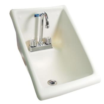 "11564 - Innovators Intl - WS1416B-F1 - 14"" Wall Mount Hand Sink w/ Faucet Product Image"
