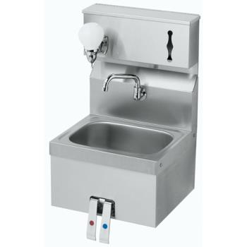 KROHS16 - Krowne - HS-16 - Knee Valve Hand Sink With Soap & Towel Dispenser Product Image