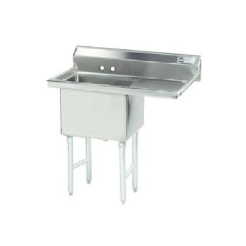 ADVFC1162018RX - Advance Tabco - FC-1-1620-18R-X - 18 in Right Drainboard One Compartment Sink Product Image