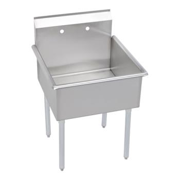 ELKB1C18X18X - Elkay SSP - B1C18X18X - 21 1/2 in x 21 in One Compartment Utility Sink Product Image