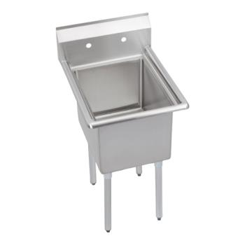 ELKE1C24X240X - Elkay - E1C24X24-0X - Economy 29 in One Compartment Sink Product Image