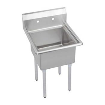 ELKS1C24X240X - Elkay - S1C24X24-0X - Super Economy 29 in One Compartment Sink Product Image