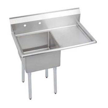 ELKSE1C18X18R18X - Elkay - SE1C18X18-R-18X - One Compartment Sink w/ Right Drainboard Product Image